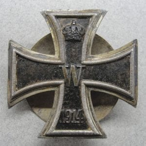 WW1 Iron Cross First Class, Screwback by Wagner