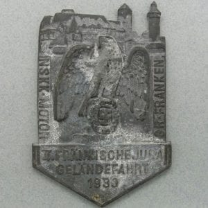 1939 NSKK Table Medal