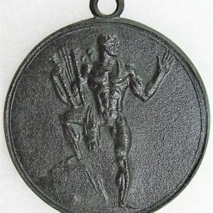 Large 1937 Table Medal