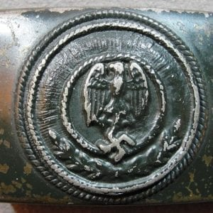Variant Early Army EM/NCO'S Belt Buckle as Shown in Angolia's Book
