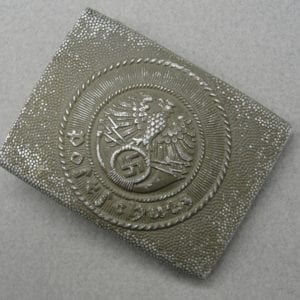 Postschutz Postal Protection EM/NCO's Belt Buckle by R.S.& S.