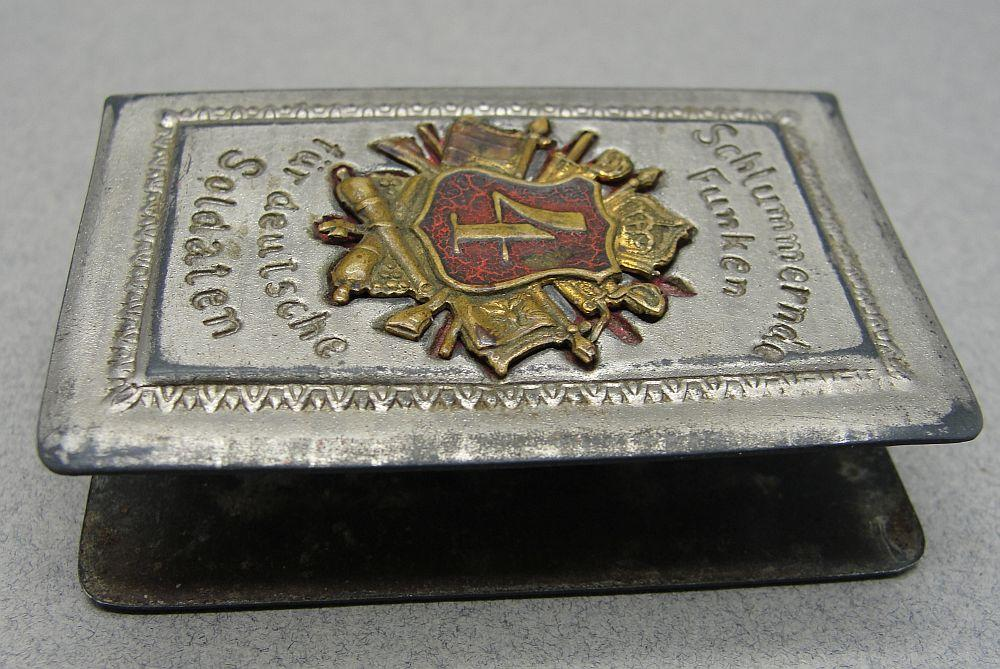 4th Artillery Regiment Matchbox Cover