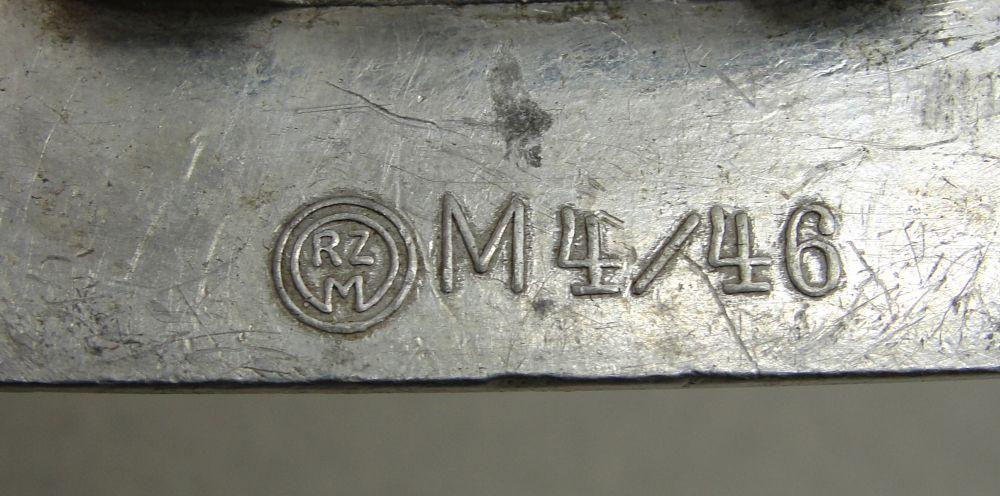 "Hitler Youth Belt Buckle by ""RZM M4/46"""
