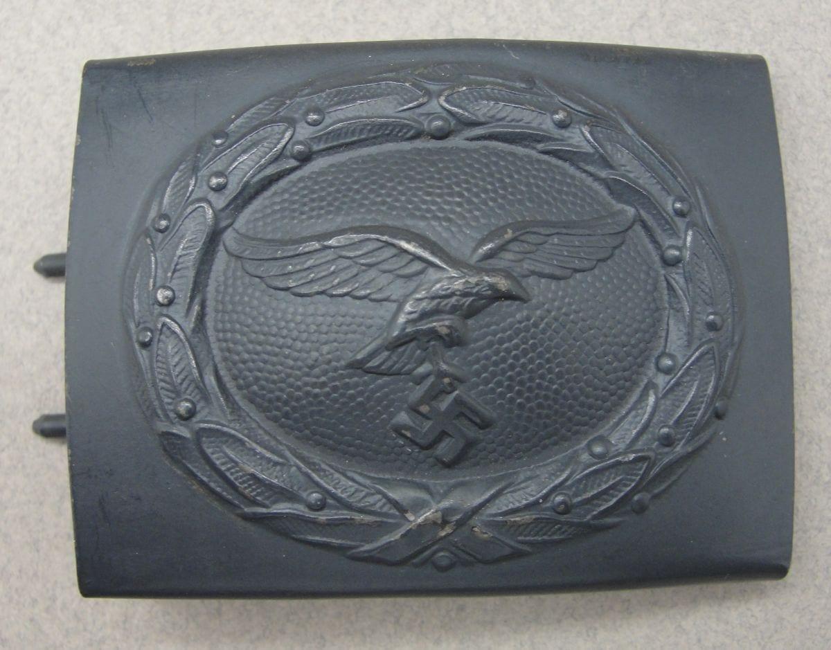 """Luftwaffe EM/NCOs Belt Buckle by """"N & H 1942"""", Choice!"""