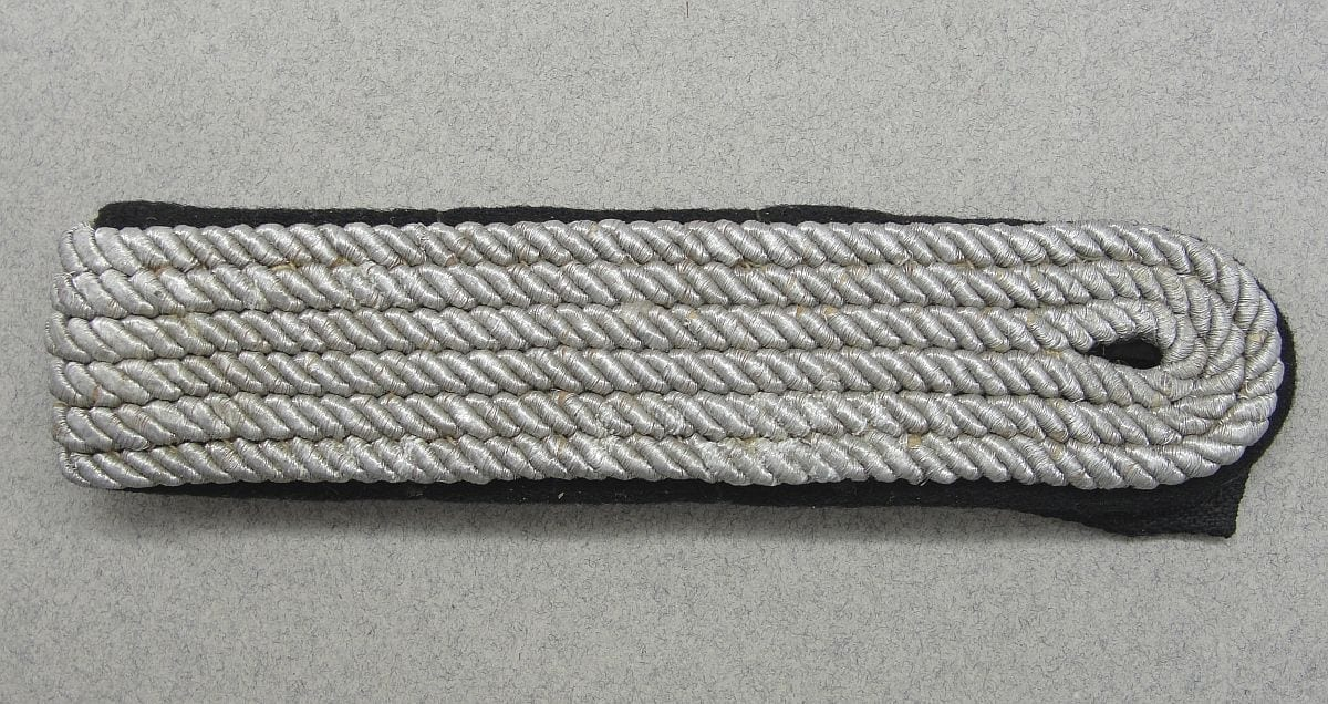 Allgemeine-SS Officer's Shoulder Board with 1936 SS-RZM Tag