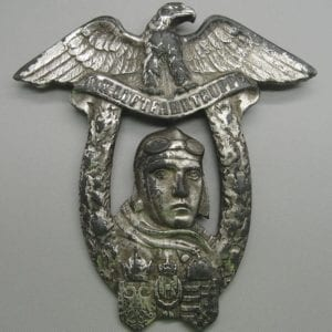WW1 Austro-Hungarian Flying Troops Vienna Flying School Badge