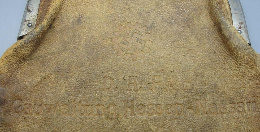 D.A.F. Gauwaltung Hessen-Nassau Change Pursue