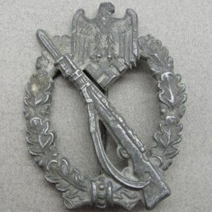 "Army/Waffen-SS Infantry Assault Badge, Silver Grade by ""HA"""