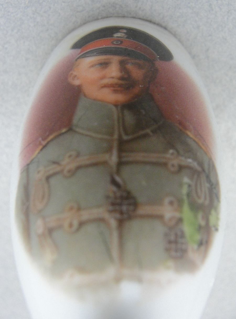 Crown Prince William WW1 5th Army Leader Pipe End