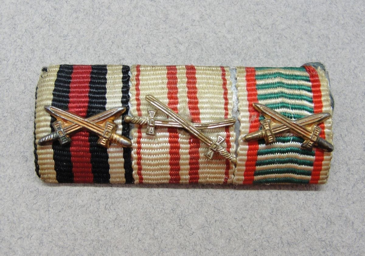 Three Place Imperial Ribbon Bar