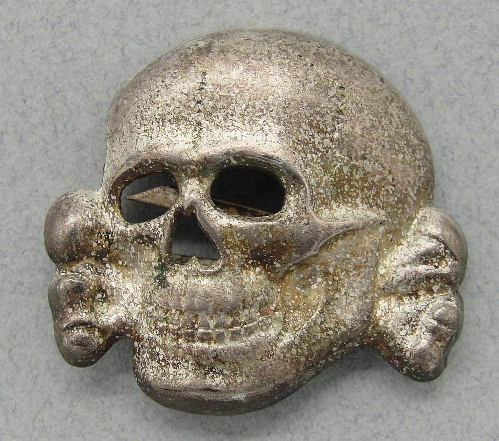 SS Visor Cap Skull by