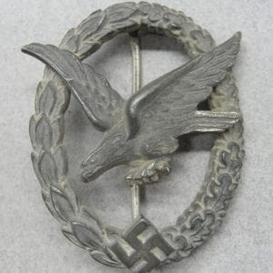 Luftwaffe Air Gunner's Badge by Deumer