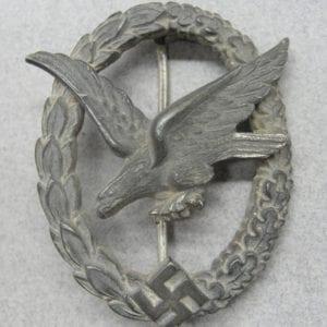 Luftwaffe Air Gunner's Badge by Deumer