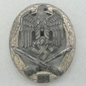 "General Assault Badge, ""25"" Numbered Version by ""RK"""