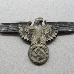 """SS Visor Cap Eagle by """"RZM M1/52"""" - Small Hole"""