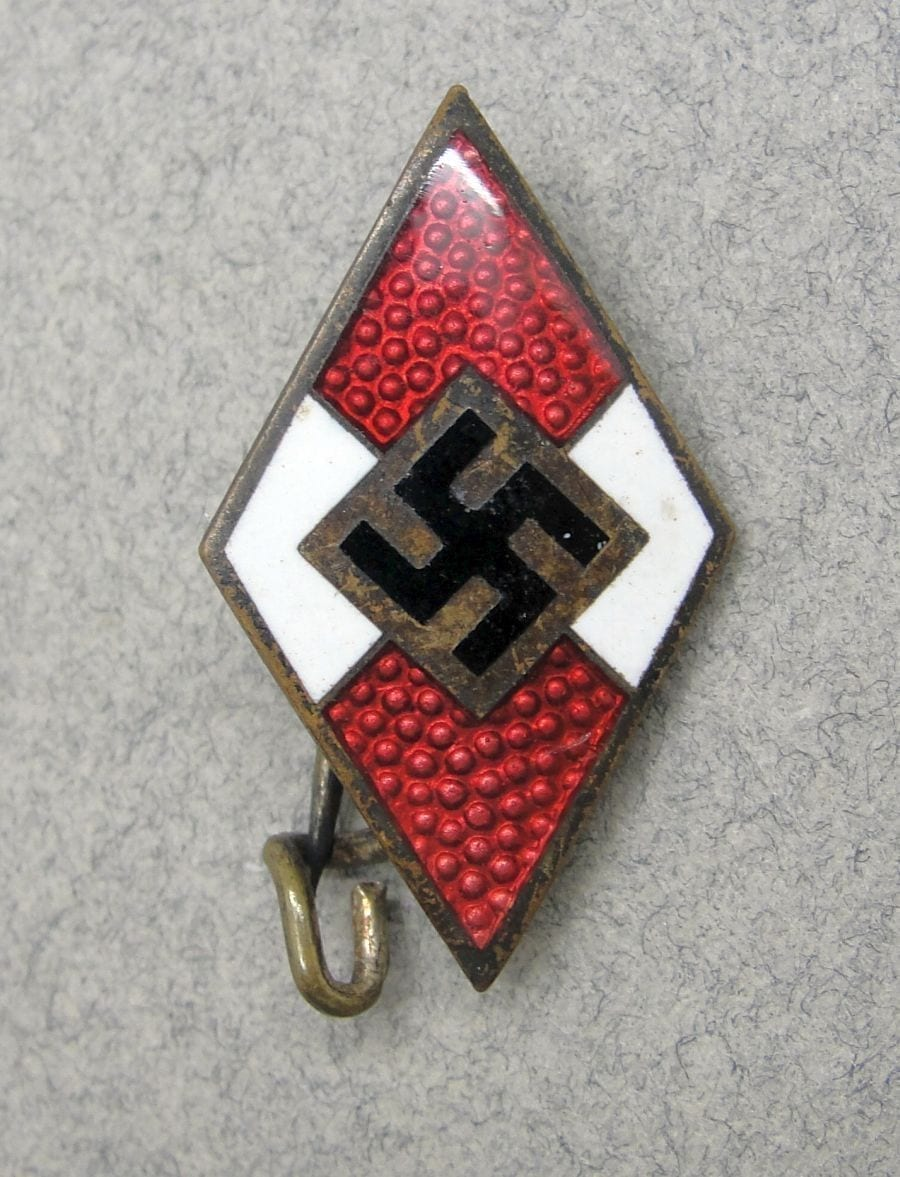 Hitler Youth Membership Badge by RZM M1/142