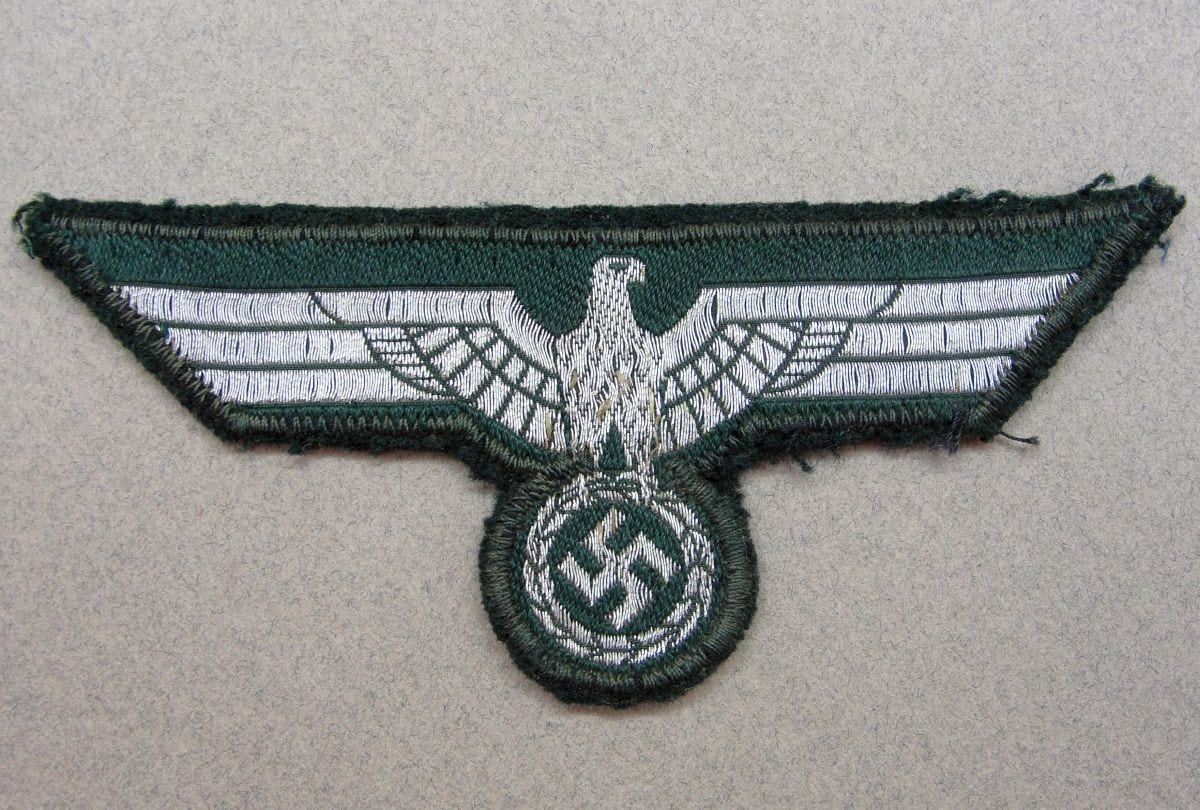 Bevo Flatwire Army NCO's/Officer's Breast Eagle