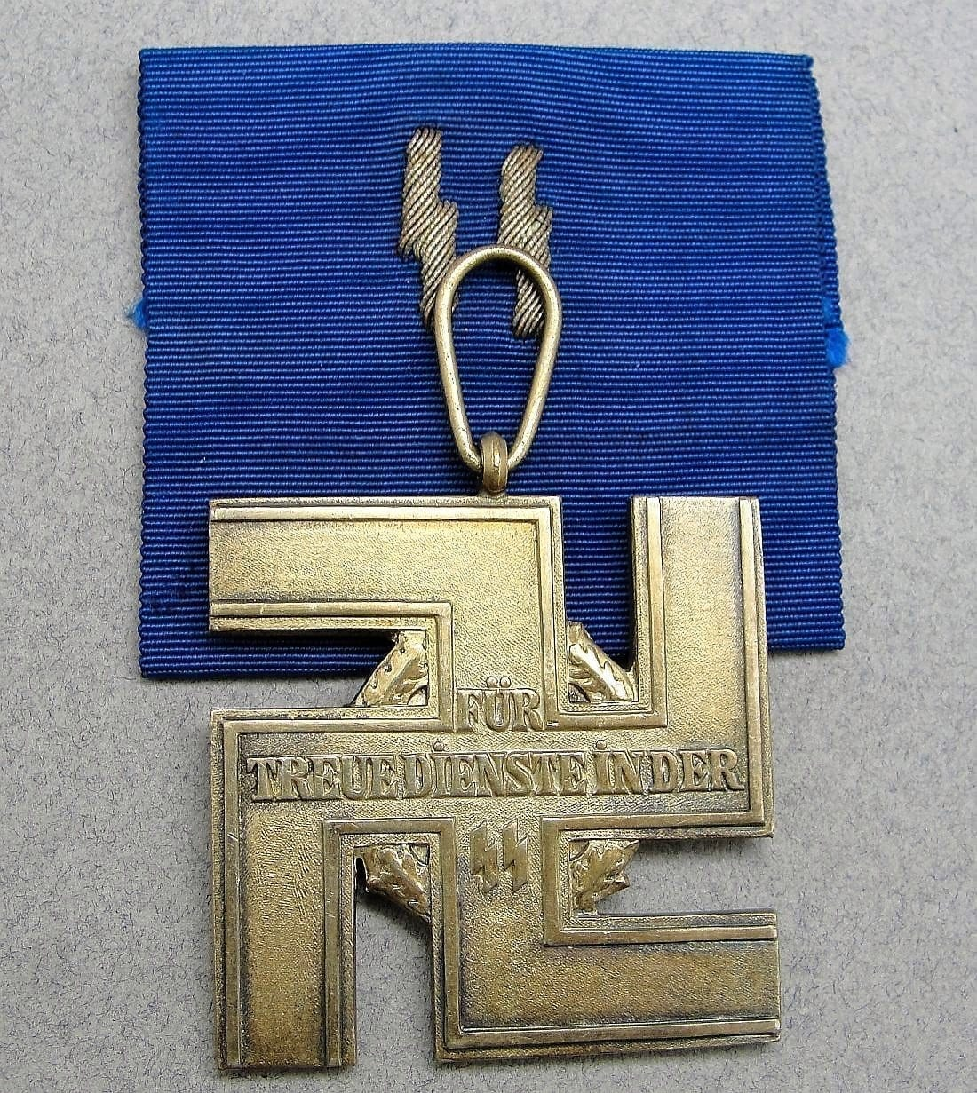 SS 25 Year Long Service Medal