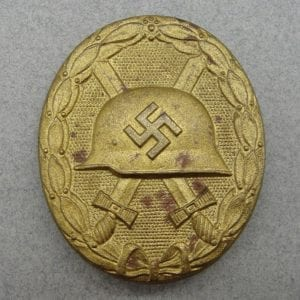 1939 Wound Badge, Gold Grade, Over-sized Version
