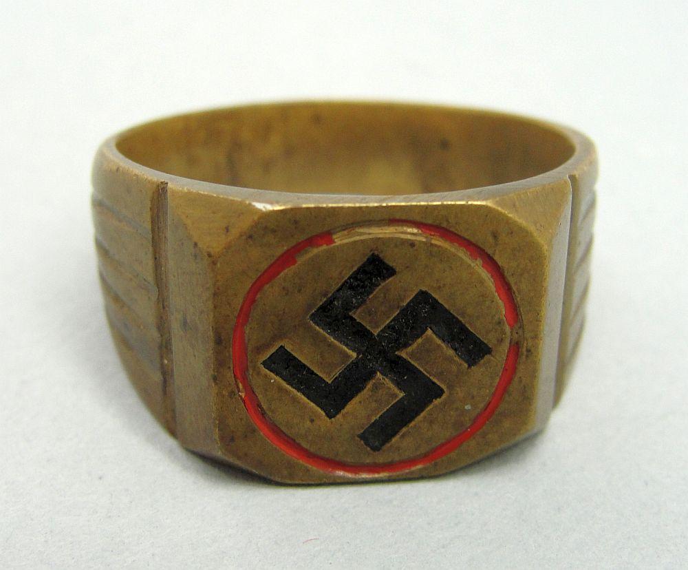 Third Reich Swastika Ring
