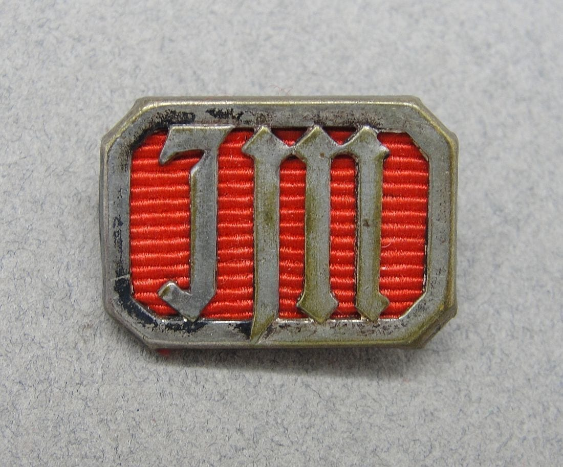 "Young Girls' League (Jungmädelbund) Achievement Badge, by ""RZM M1/34"""