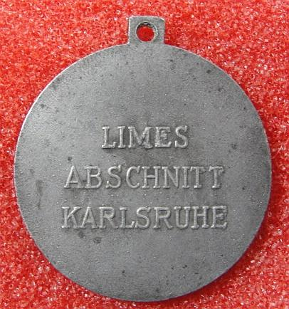 1938 Westwall Construction Medal