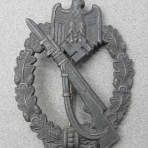 "Army/Waffen-SS Infantry Assault Badge, Silver Grade by ""FZZS"""