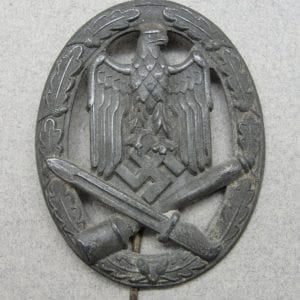 Army/Waffen-SS General Assault Badge, Catch Gone