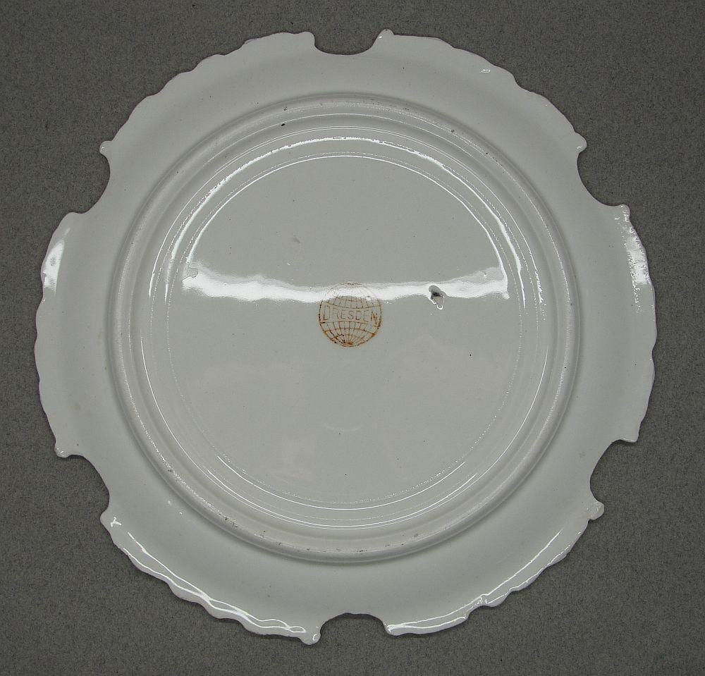 "US Battleship ""Maine"" Plate"