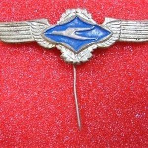 1930's Lufthansa Trainee Wings, Silver Grade