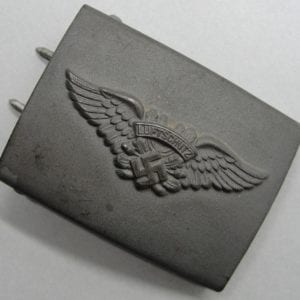 Luftschutz EM/NCO's Belt Buckle, by GB 42
