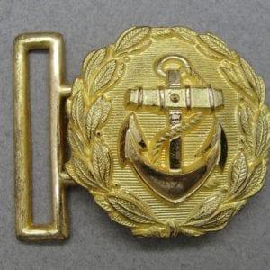 Kriegsmarine Officer's Buckle for Dagger Belt
