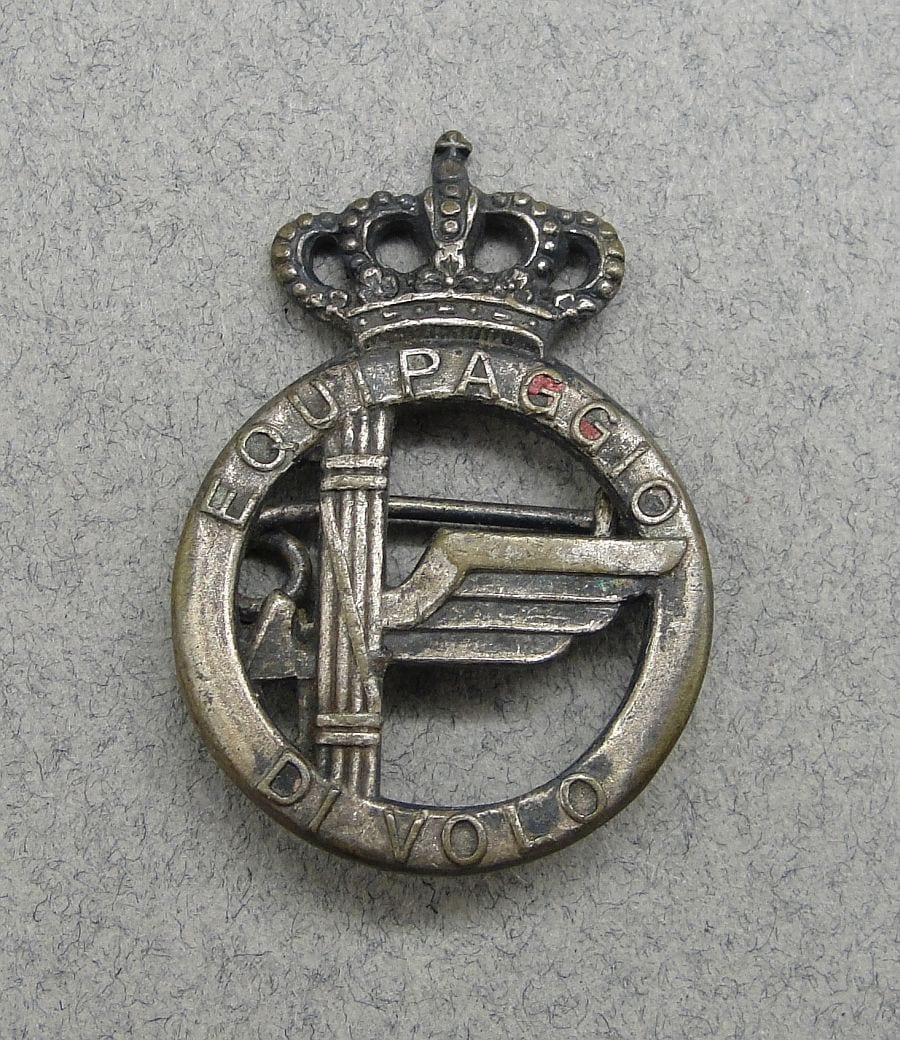 WW2 Italian Air Force Air Crew Badge