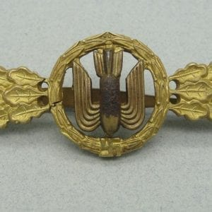 Luftwaffe Squadron Clasp for Bomber Pilots Gold Grade