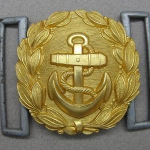 Kriegsmarine Officer's Buckle for Brocade Belt by ELJ