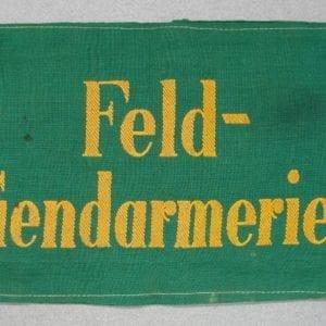 "Army/Waffen-SS ""Feld-Gendarmerie"" Field Police Armband"