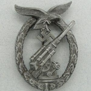 Luftwaffe Flak Badge by Deumer