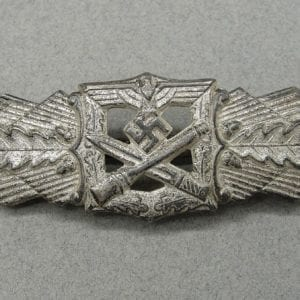 Army/Waffen-SS Close Combat Clasp by FLL, Silver Grade