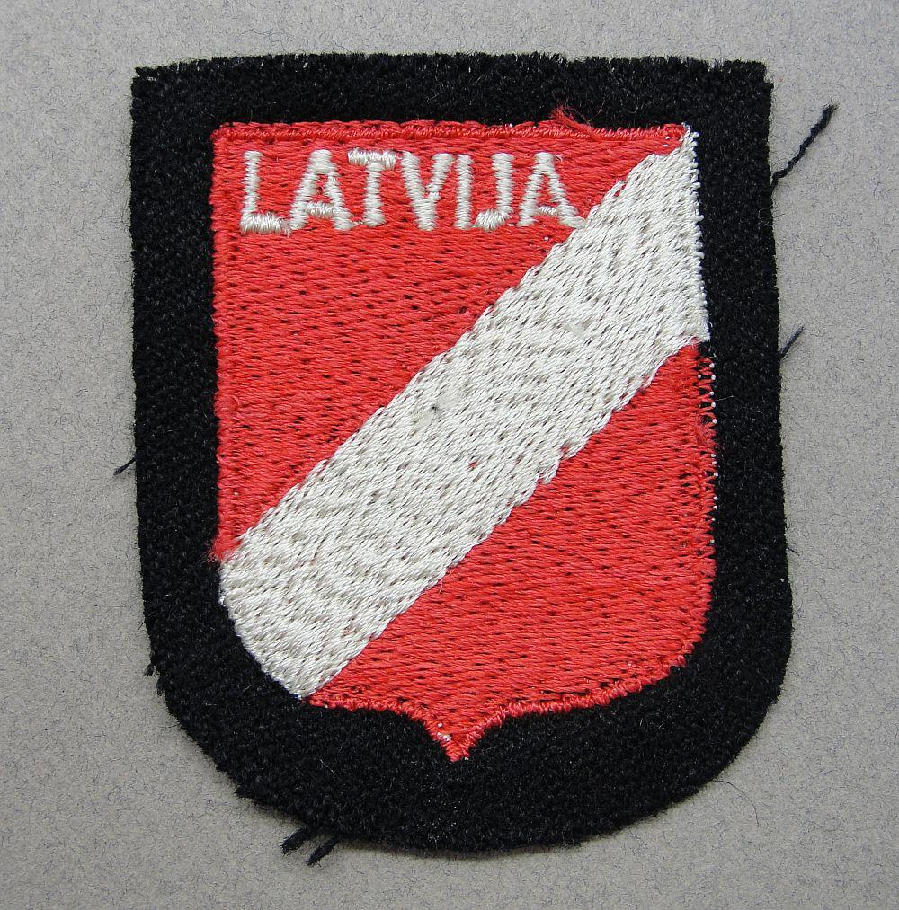 Waffen-SS Latvian Volunteer Sleeve Shield