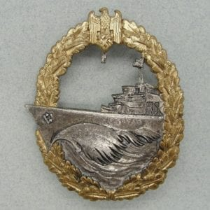 Kriegsmarine Destroyer Badge by G.W.L.