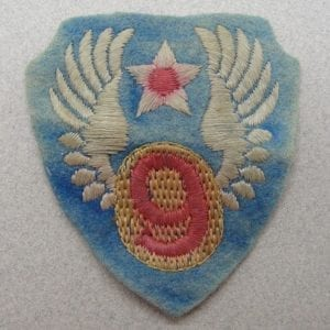 US Army 9th Air Force Patch European Made