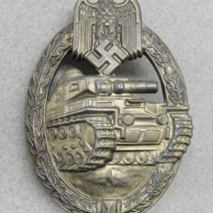 Army/Waffen-SS Panzer Assault Badge in Bronze