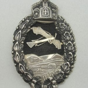 WW1 Prussion Pilot's Badge, Cutout Version