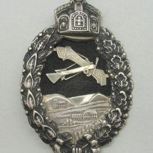 WW1 Prussion Pilot's Badge, Cutout Version