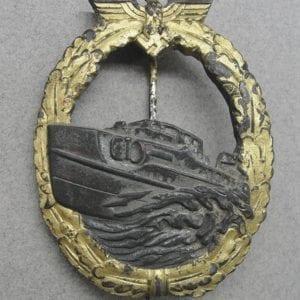 Kriegsmarine E-Boat Badge, First Pattern
