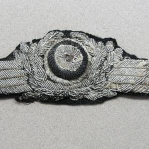 Luftwaffe Officer's Visor Cap Wreath and Cockade