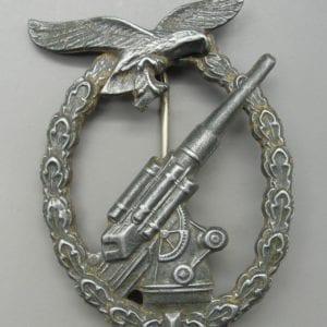 Luftwaffe Flak Badge, De-Nazified