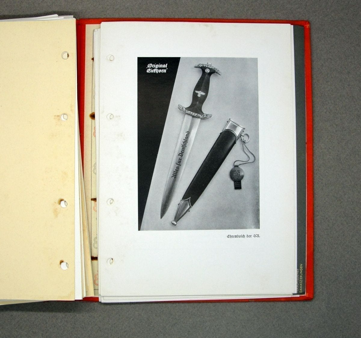 Eickhorn Dagger and Edged Weapons Catalog