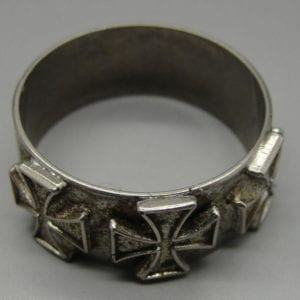Patriotic World War One Ring