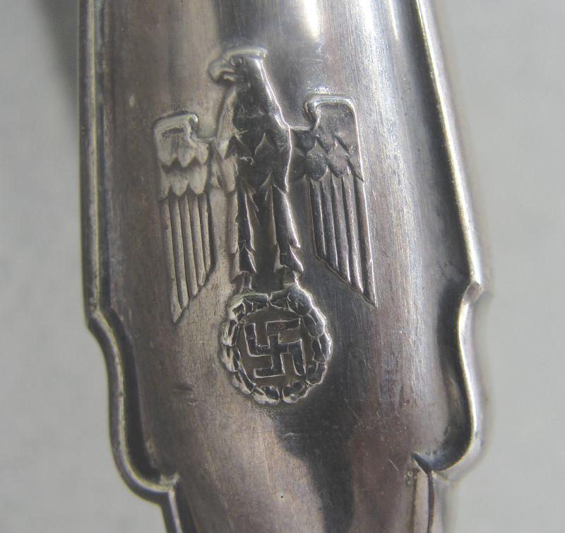 Adolf Hitler - Reichs Chancellery Formal Pattern Silverware - Nut Cracker